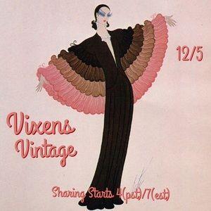 SATURDAY 12/5 Vintage Vixens Sign Up Sheet